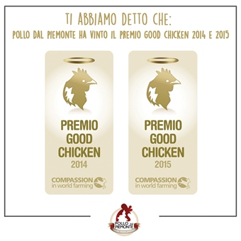 Premio Good Chicken 2014 e 2015 - Pollo dal Piemonte